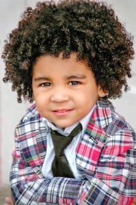 Child Modeling Headshot